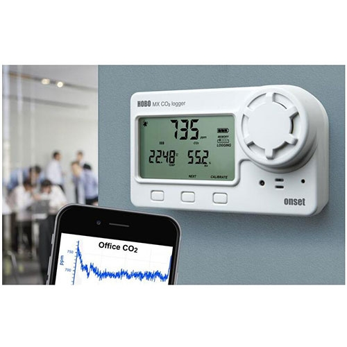 MX1102A无线温湿度二氧化碳记录仪